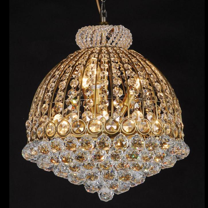 Kristalllampe Antik color compl. 55-180 * (d)48 cm 12x E14/40w