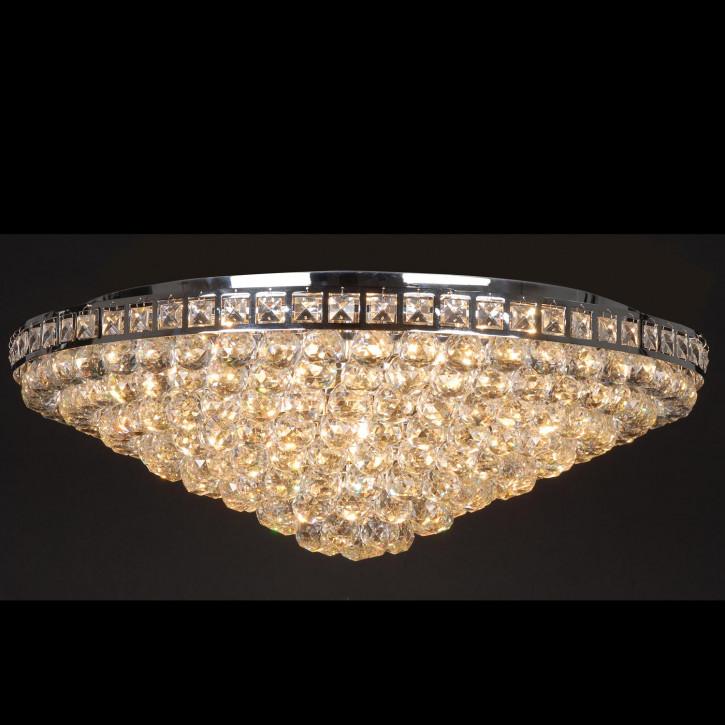 Kristallamp plafondlamp chroom Krisstallampe komplett