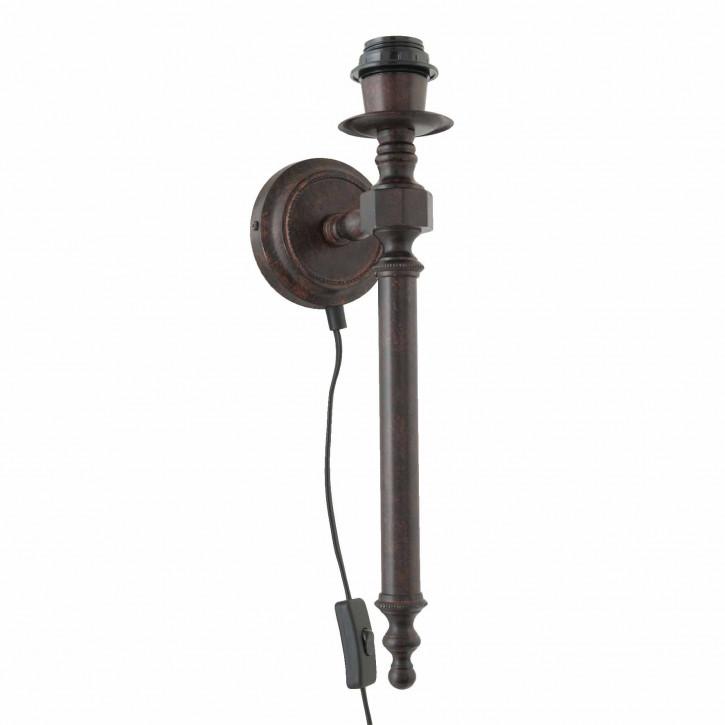 Wandlampe Rot Ø15 cm