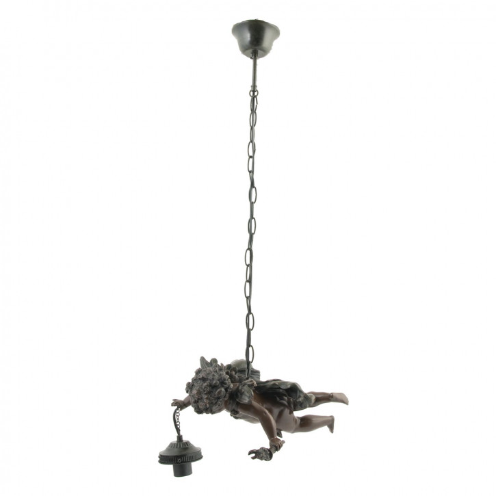 Hanglamp poly met druif compl. 110*(d)36 cm KH8 1x E27 max 60w