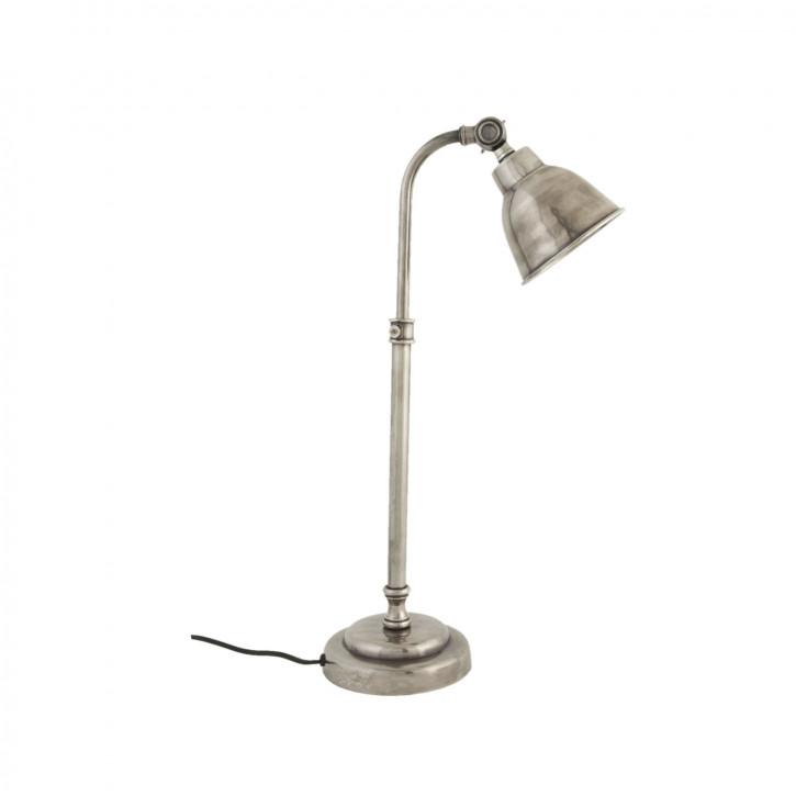 Bürolampe mit Schwenkkopf silber