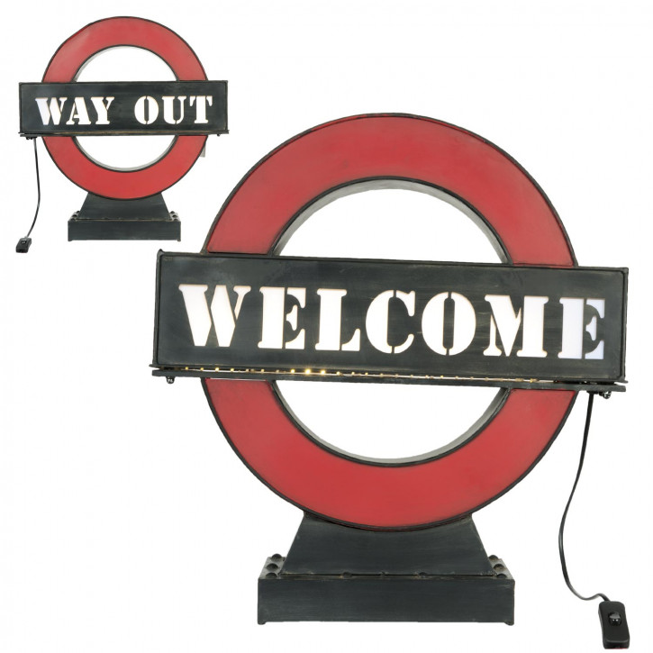 Lamp LED (welcome-way out) 51x15x54 cm
