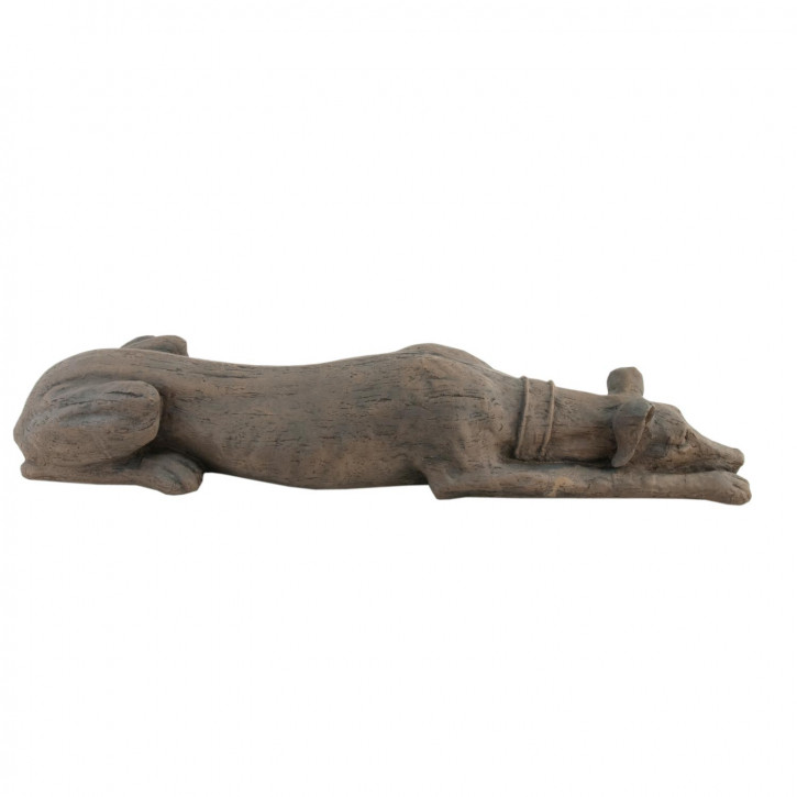Deko Hund schlafend 86*22*15cm