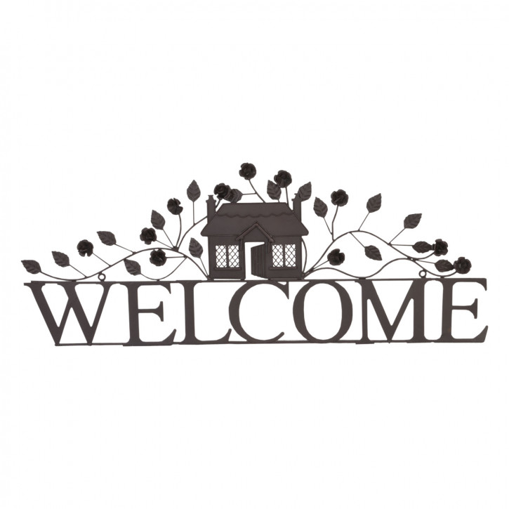 Schild Wandschild Welcome ca. 70 x 28 cm