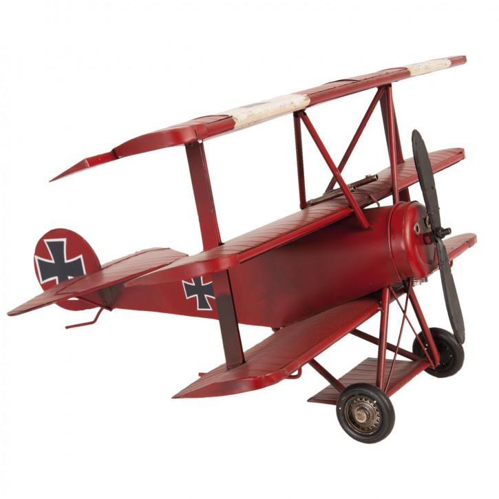 Blechmodel Airplane 60x51x30 cm