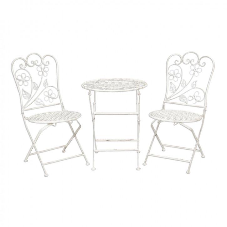 Childrens table + 2x chair Ø 40x49/32x32x67 cm