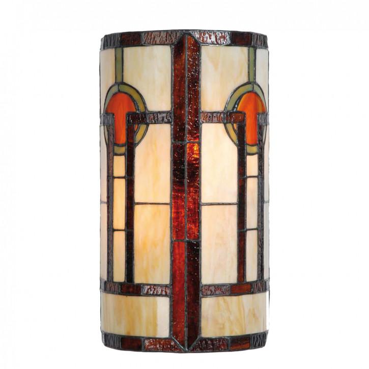 Wandlampe im Tiffany-Stil ca. Ø 18 cm