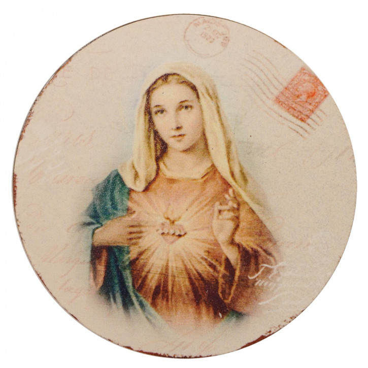 Magnet mit Madonna-Motiv