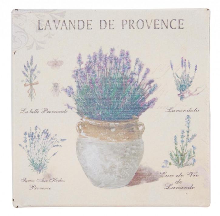 Magnet mit Lavendeltopf-Motiv