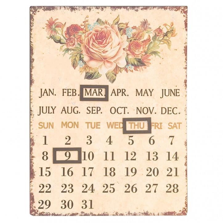 Kalender Rosen ca. 25 x 33 cm
