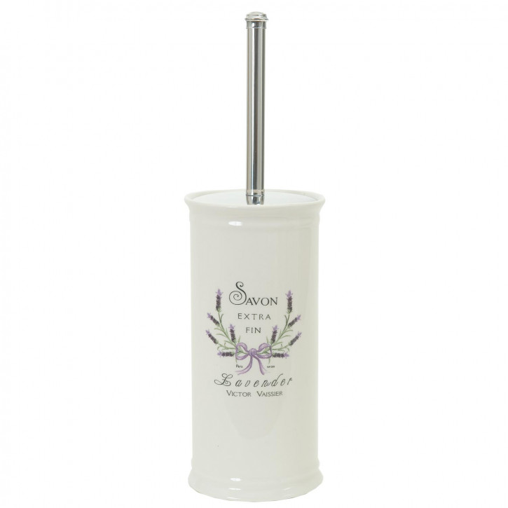 WC-Bürste Savon Extra Fin - Lavender ca. 11.5 x 11.5 x 24 cm
