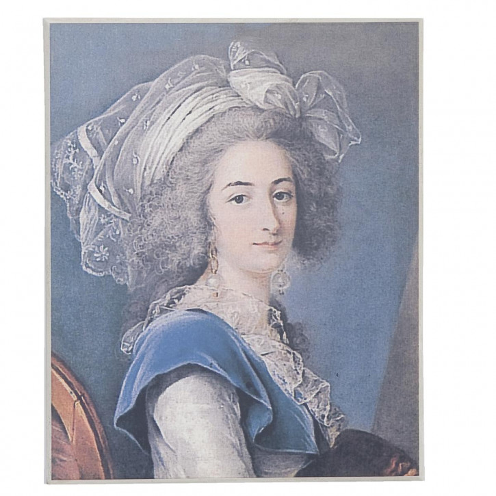 "Gemälde ""Woman"" 30*37cm"