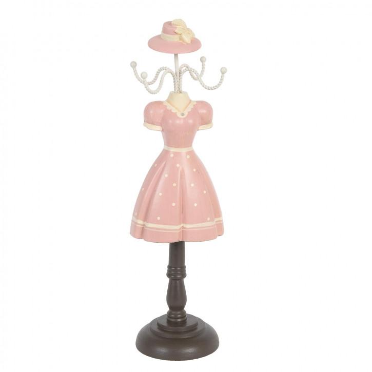 Schmuckständer Rosa ca. 31 x 9 x 8 cm