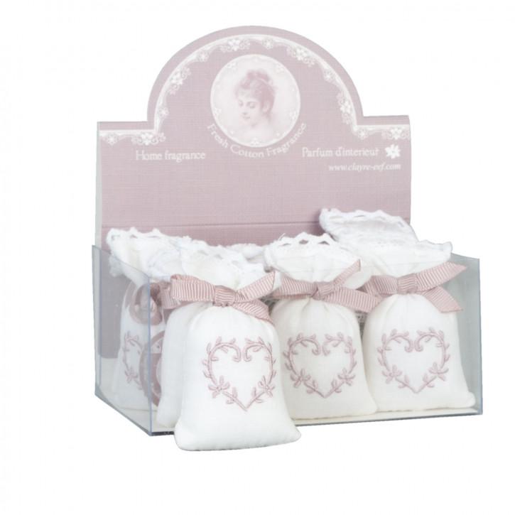 Aromabeutel 1 Duftbeutel Fresh Cotton ca. 4 x 3 x 6 cm