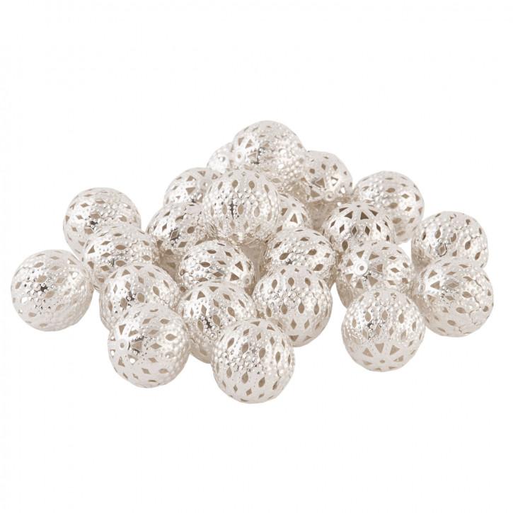 Perlen mit Muster im 100er-Pack