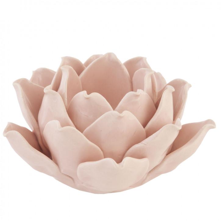 Teelichthalter Rosenblüte Ø11cm