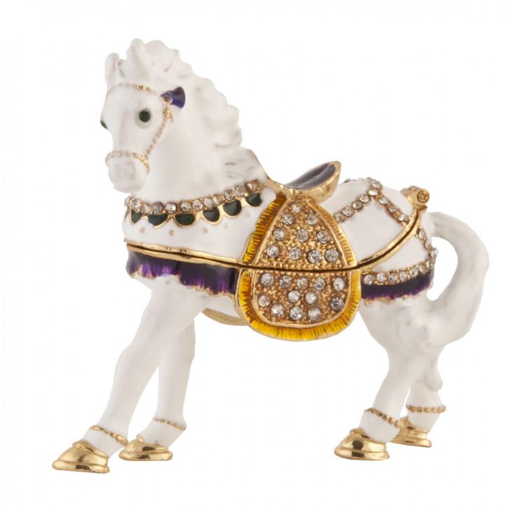 Schatulle Pferd ca. 8 x 3 x 8 cm