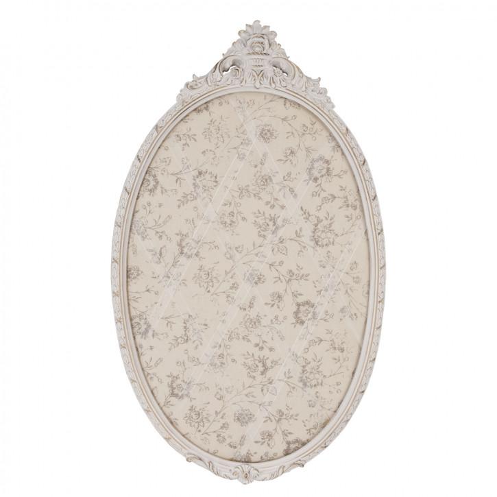 Memoboard Oval ca. 39 x 3 x 64 cm
