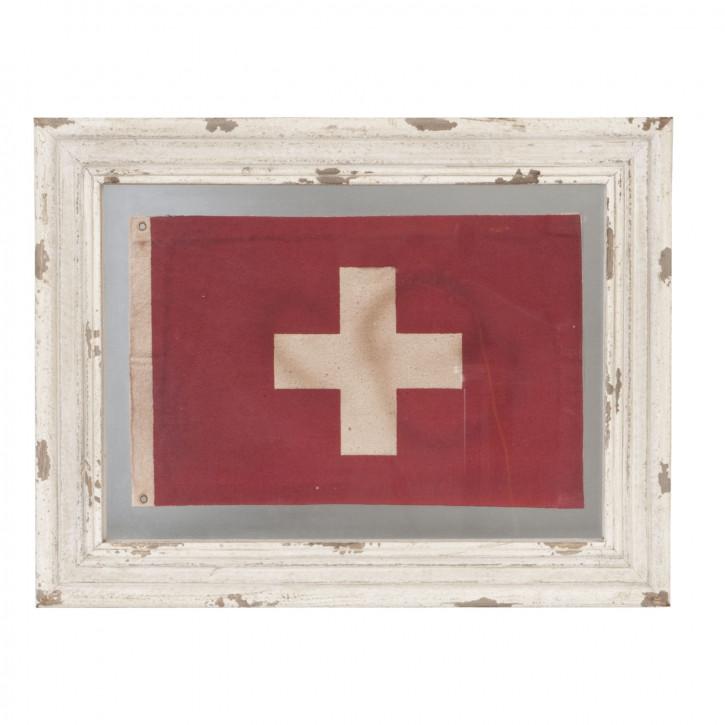 Bild Kreuz auf rotem Hintergrund ca. 48 x 37 cm
