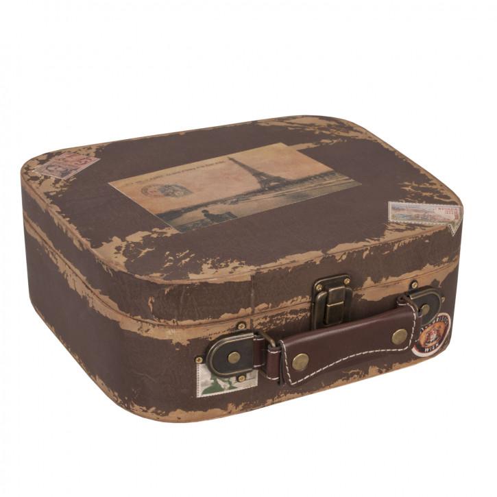 Koffer Eifelturm ca. 28 x 26 x 10 cm