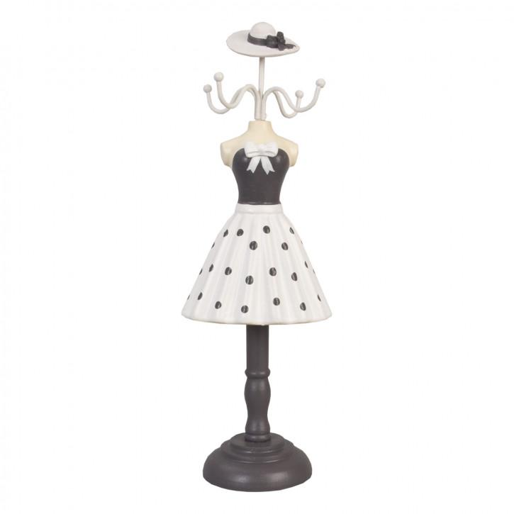 Schmuckständer Kleid Hut ca. 11 x 33 cm