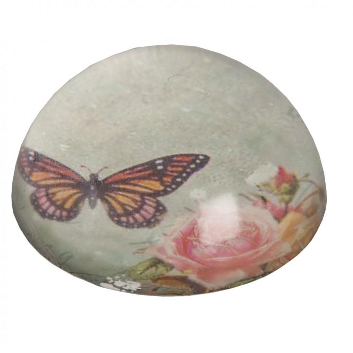 Briefbeschwerer Schmetterling ca. Ø 8 x 3 cm