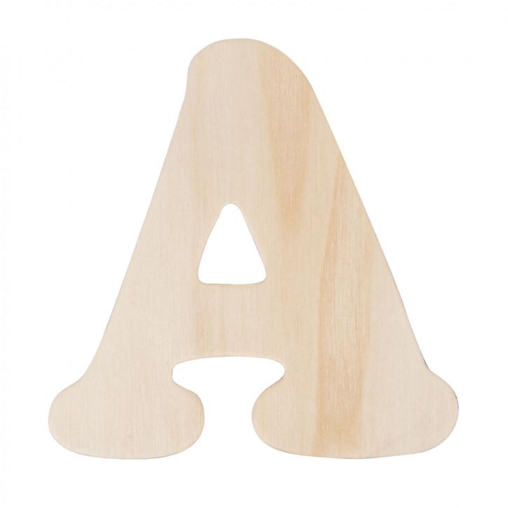 Holzbuchstabe A ca. 11 cm