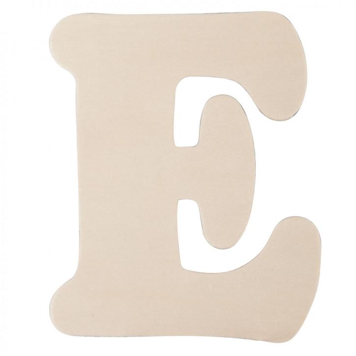 Holzbuchstabe E ca. 11 cm