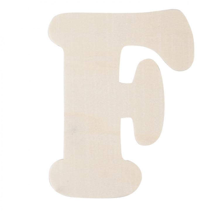 Holzbuchstabe F ca. 11 cm