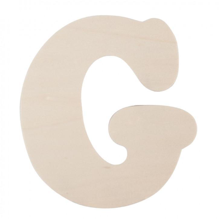 Holzbuchstabe G ca. 11 cm