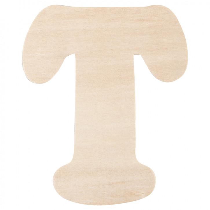 Holzbuchstabe T ca. 11 cm