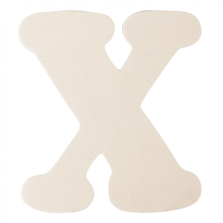 Holzbuchstabe X ca. 11 cm