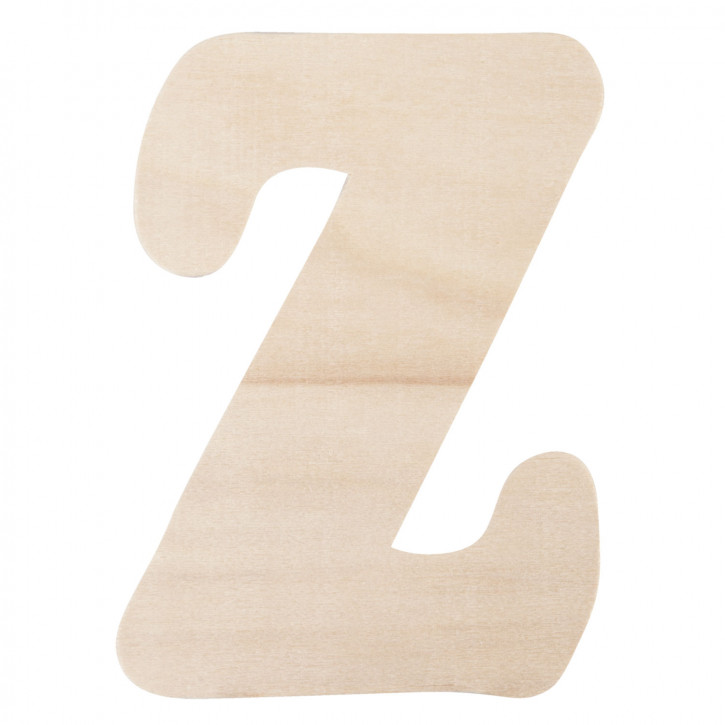 Holzbuchstabe Z ca. 11 cm