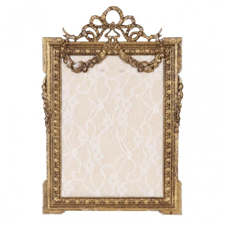 Schmuckhalter Rahmen goldfarbig ca. 16 x 24 cm