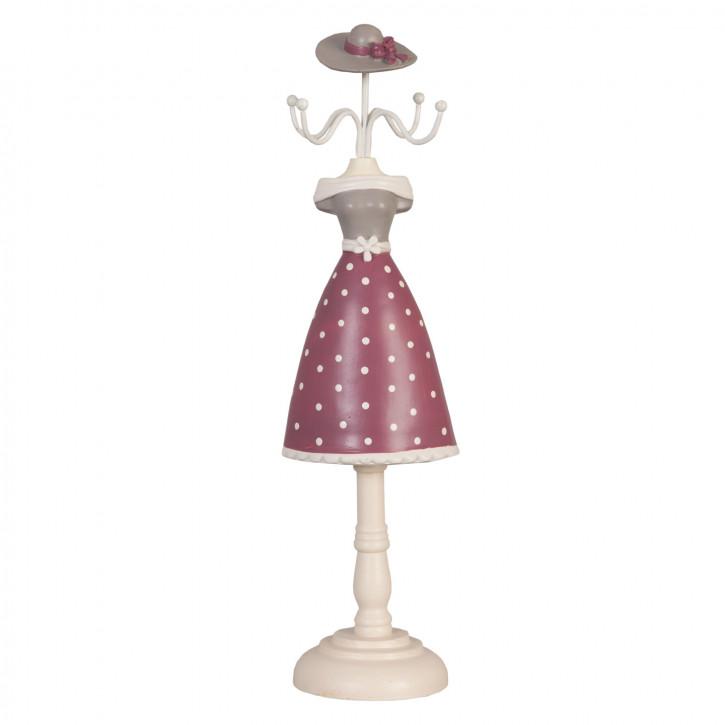 Schmuckständer Kleid Hut ca. 9 x 8 x 33 cm