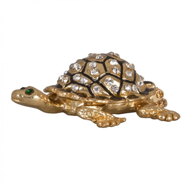 Büchse Dose Schildkröte ca. 8 cm