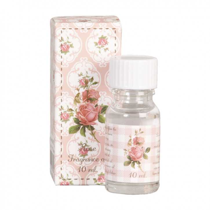 Geurolie rose 10 ml. 3x3x8 cm
