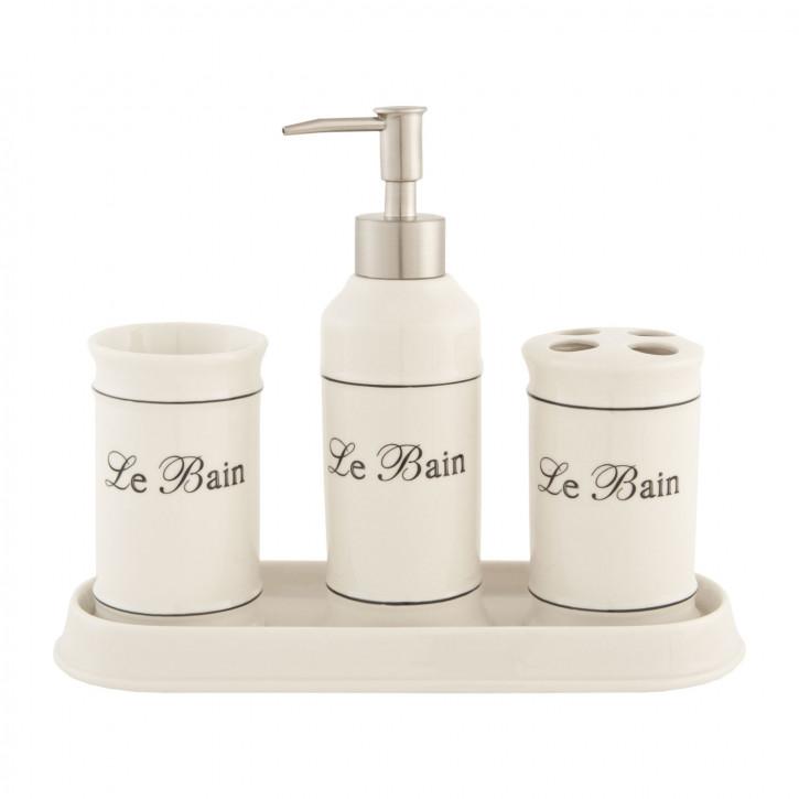 Bad-Set 4-teilig Le Bain 4-teilig Keramik