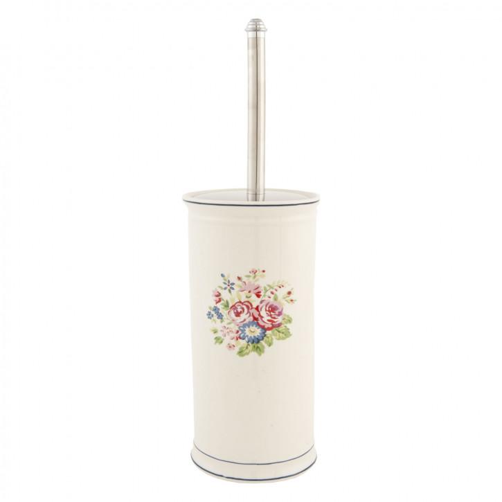WC-Toilettenbürste * Blumen * ca. 12 x 40 cm