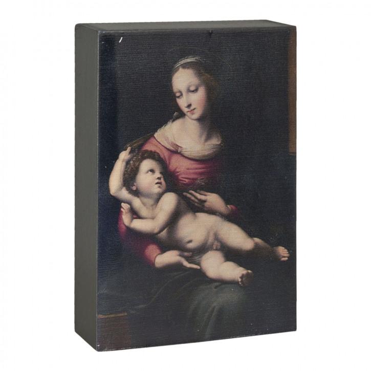 Deko Dekoration Bild ca. 10 x 4 x 15 cm
