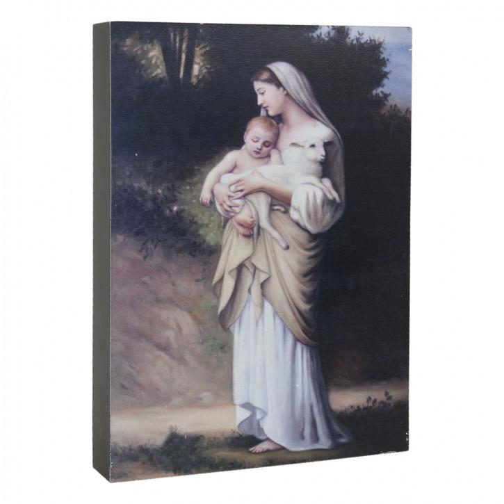 Deko Dekoration Bild ca. 18 x 4 x 25 cm