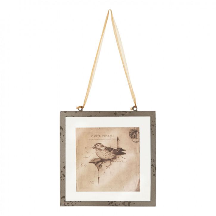 Bild Vogel ca. 20 x 19 x 1 cm
