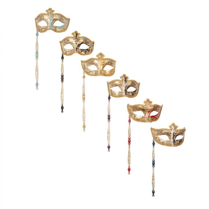 Decoration mask (6) 16 x 8 x 36 cm