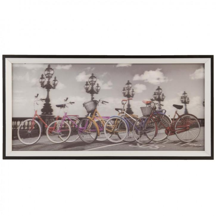 Wandbild 53x2x26 cm