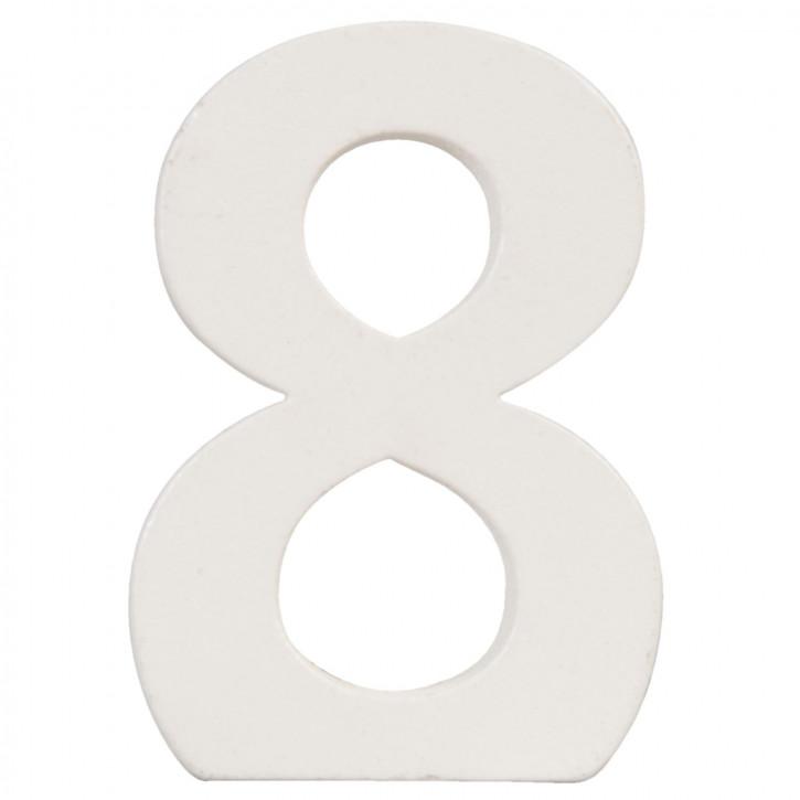Number 8 8x5 cm