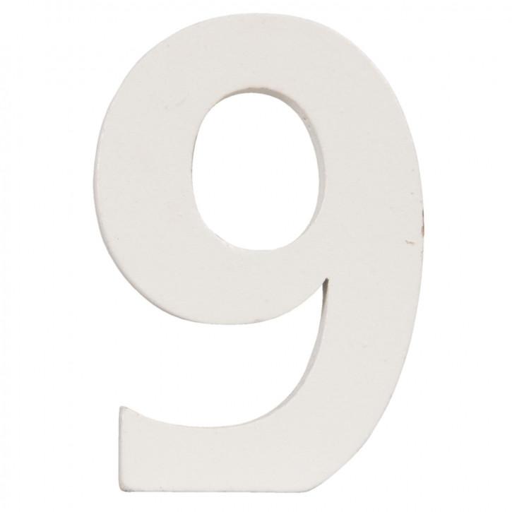 Number 9 8x5 cm