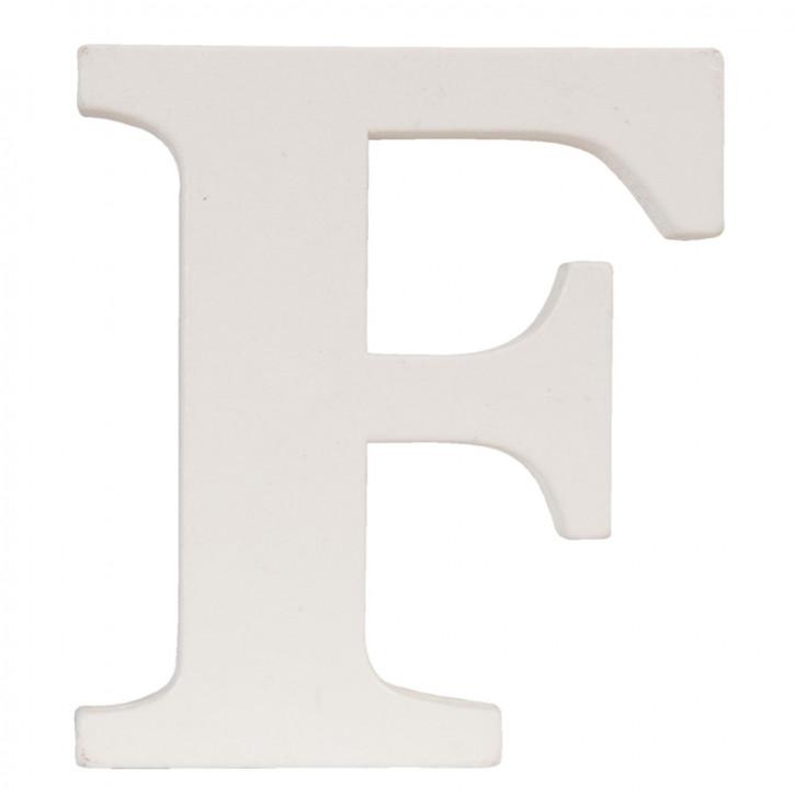 letter F 7x8 cm