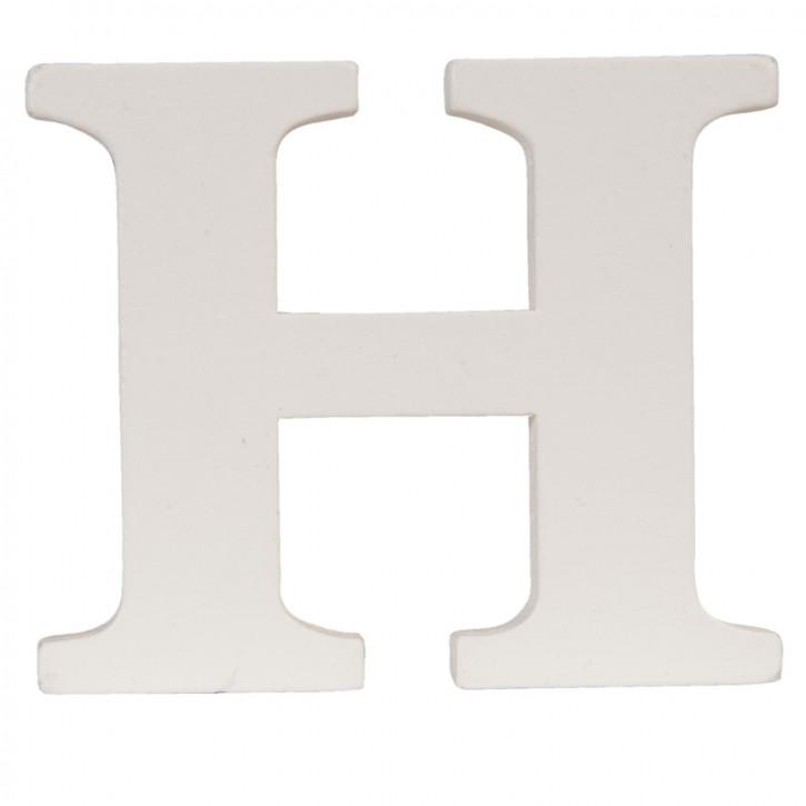 letter H 9x8 cm