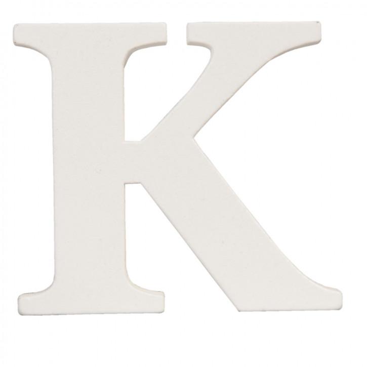 letter K 9x8 cm