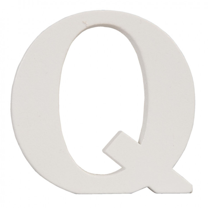 letter Q 8x8 cm